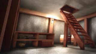 地下室の背景イラスト