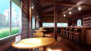 喫茶店の背景イラストのフリー素材