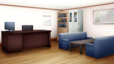 事務所の背景イラスト